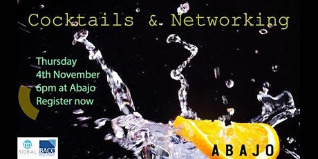 Cocktails and Networking tickets