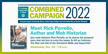 Tri-C Combined Campaign Virtual Meet the Author, Rick Porrello, Event tickets