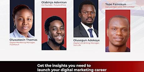 Digital Marketing Career Masterclass billets