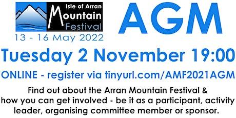 Arran Mountain Festival Annual General Meeting tickets