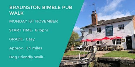 BRAUNSTON BIMBLE  & EVENING PUB WALK | 3.5 MILES | EASY | NORTHANTS tickets