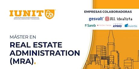 Máster en Real Estate Administration (MRA) 2022-2023 entradas