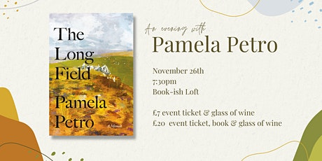 An evening with Pamela Petro tickets