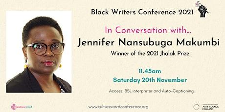 In Conversation with...Jennifer Nansubuga Makumbi tickets