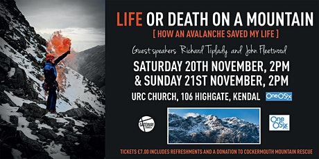 Life or Death on a Mountain - Saturday tickets