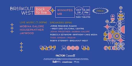 Back to Live - Winnipeg tickets