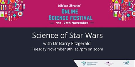 Science of Star wars with Dr Barry Fitzgerald tickets