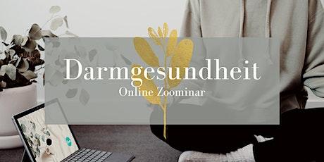 Online Zoominar - Darmgesundheit Tickets