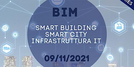 BIM Smart Building, Smart City, Infrastruttura IT Tickets