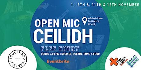 Open Mic Ceilidh tickets