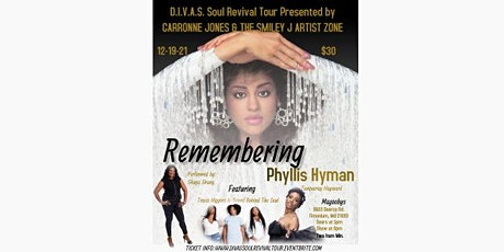 Remembering Phyllis Hyman tickets