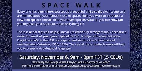 SPACE WALK  Workshop by Wink! tickets