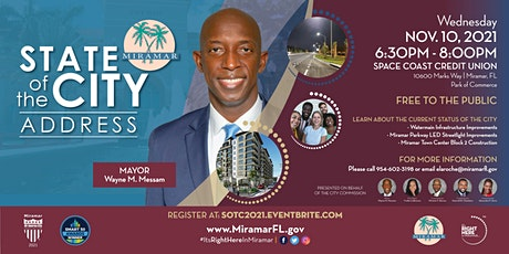 State of the City Address 2021 tickets