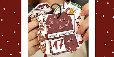 Kreativer Adventskalender Workshop Tickets