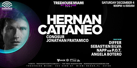 HERNAN CATTANEO @ Treehouse Miami tickets
