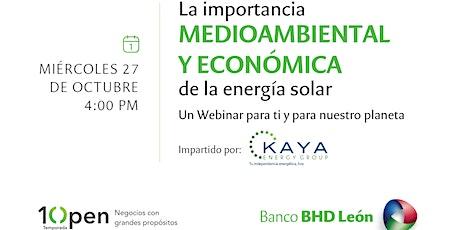 La importancia medio ambiental y económica de la energía solar entradas