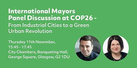 International Mayors  Panel session at COP26 tickets
