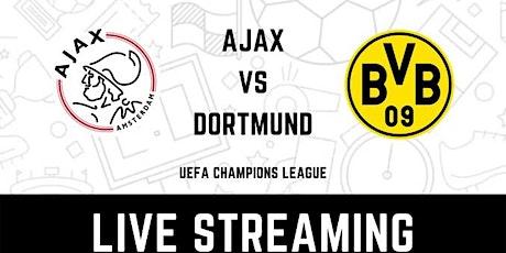 StREAMS@>! (LIVE)-Ajax v Borussia Dortmund LIVE ON fReE UCL 19 Oct 2021 tickets