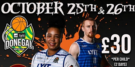 LYIT Donegal Basketball Club Halloween Camp tickets