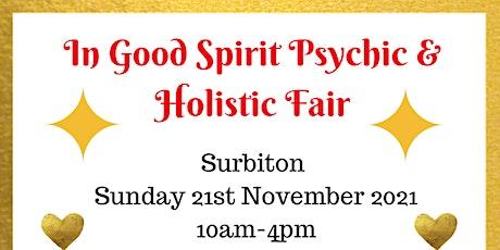 In Good Spirit Psychic & Holistic Fair! - Surbiton tickets