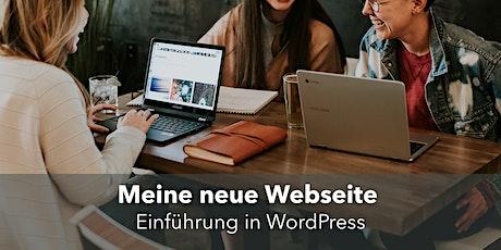 Meine eigene Website: Einführung in WordPress tickets