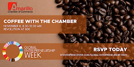 Global Entrepreneurship Week: Coffee with the Chamber tickets