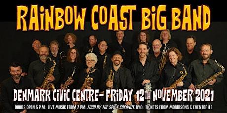 Rainbow Coast Big Band swings Denmark Civic Centre tickets