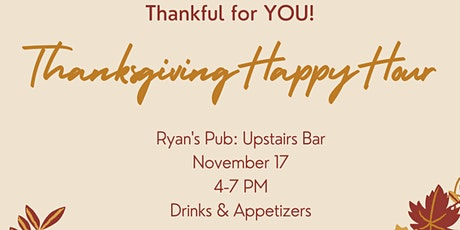 THANKFUL FOR YOU! Agent and Co-Op Agent Appreciation Happy Hour! tickets