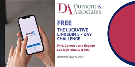 The Lucrative LinkedIn 5-Day Challenge tickets