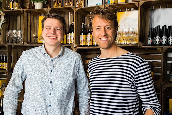 Afbeelding van Behind the Business Café editie met Grutte Pier Brouwerij!