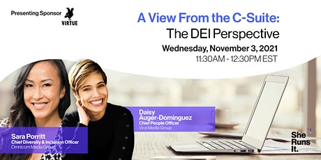 VIRTUAL EVENT: A View From the C-Suite: The DEI Perspective tickets