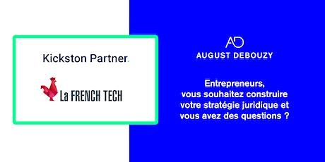 Conférences par August Debouzy, la French Tech et Kickston Partner billets