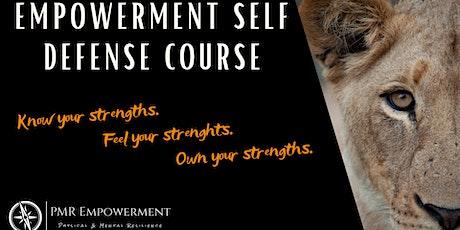 Empowerment  Self Defense Course - IXELLES/ELSENE tickets