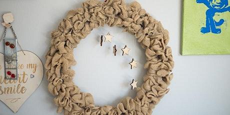 Gorgeous Burlap Wreath Workshop tickets