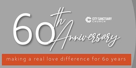 City Sanctuary 60th Anniversary Luncheon tickets
