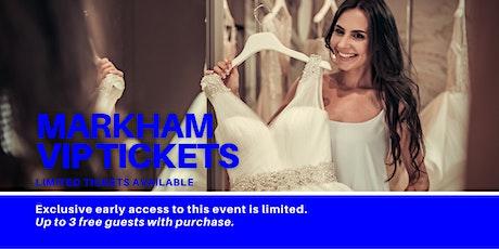 Markham Pop Up Wedding Dress Sale VIP Early Access tickets