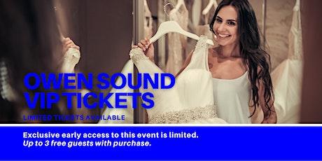 Owen Sound Pop Up Wedding Dress Sale VIP Early Access tickets