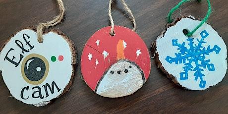 Free Kids Christmas Ornament Craft tickets