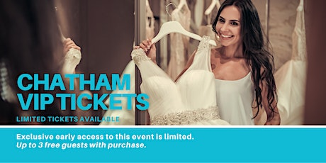 Chatham Pop Up Wedding Dress Sale VIP Early Access tickets