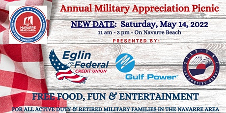 Annual Military Appreciation Picnic on Navarre Beach tickets