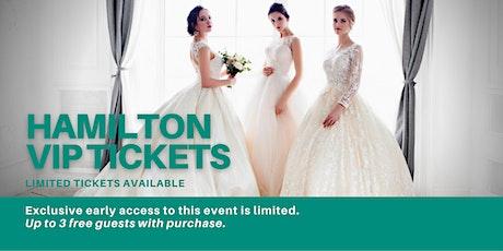 Hamilton Pop Up Wedding Dress Sale VIP Early Access tickets