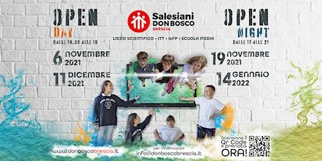 Open School Istituto Tecnico Tecnologico Don Bosco biglietti