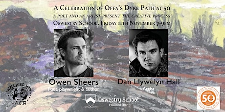 An Artist and Poet: Celebrating Offa's Dyke Path at 50 tickets