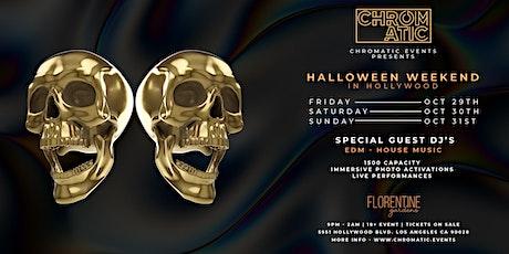 CHROMATIC ( Day 3 ) Halloween Night tickets