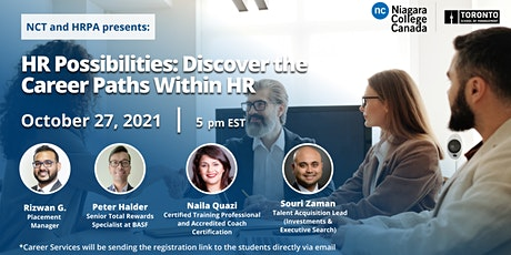 HR Possibilities: Discover the Career Paths Within HR tickets