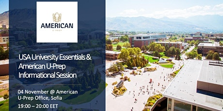 USA University Essentials & American U-Prep Info Session tickets