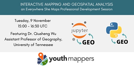 Interactive Mapping and Geospatial Analysis tickets