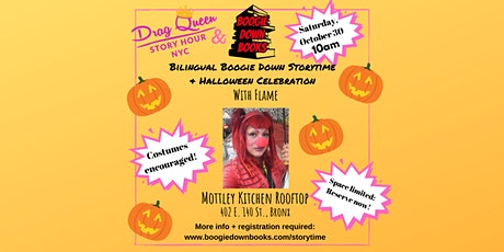 Bilingual Boogie Down Storytime + Halloween Celebration with Flame tickets