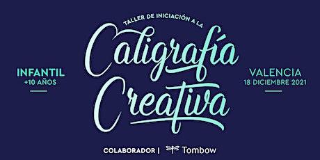 ✍️ Taller INFANTIL de Caligrafía Creativa. RUBIO - 18 diciembre, Valencia entradas