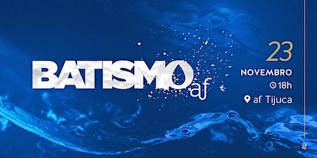 BATISMO |Tijuca | Sábado • 23/10 • 18h ingressos